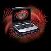 k9 con laptop